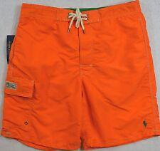 Polo Ralph Lauren Swim Shorts Swimming Trunk Cargo Pocket Size M Medium NWT