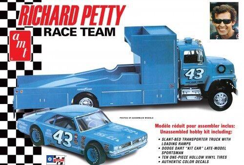 Amt  43 Richard Petty Course Équipe Dart&ford Camion 1 25 Voiture Modélisme