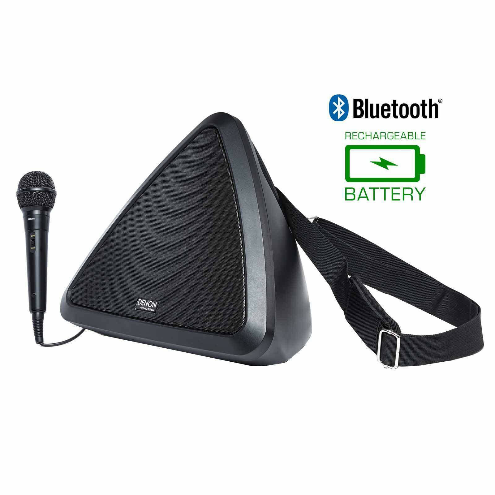 Denon Dispatch Mobile PA System with Blautooth
