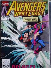 AVENGERS West Coast n°59 1990 ed. Marvel Comics  [SA4]