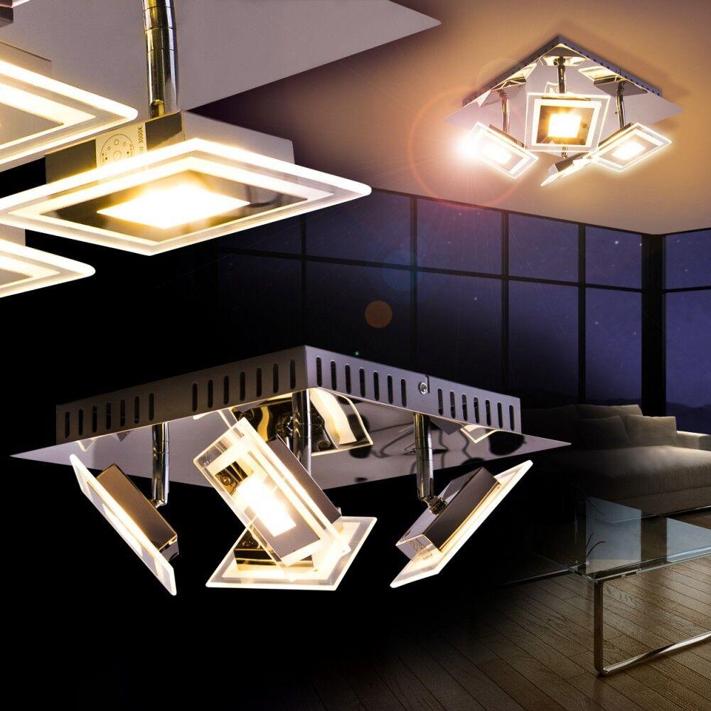 LED Lampada Soffitto Design Riflettori da tetto Lampada Plafoniera Lustro 135649