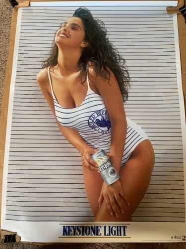 Vintage 1991 Keystone Light Swimsuit Poster