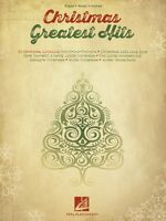 Christmas Greatest Hits Sheet Music Piano Vocal Guitar Songbook 000128603