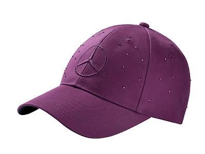Mercedes-Benz Ladies Baseball Cap Plum