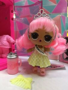 LOL HairGOALS  Surprise DOLL • PROM PRINCESS • M-077 •Makeover NUOVA  Lil Omg