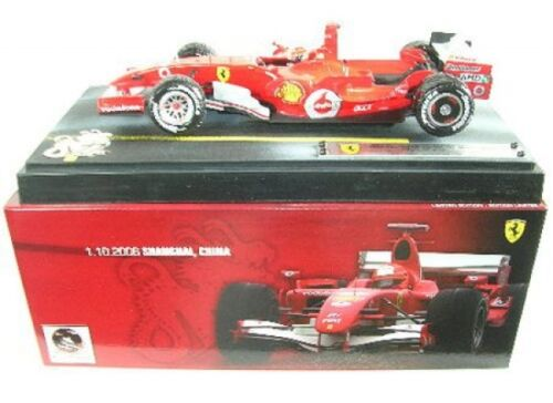 5 Michael Schumacher GP Shanghai 2006 Ferrari 248 F1 No