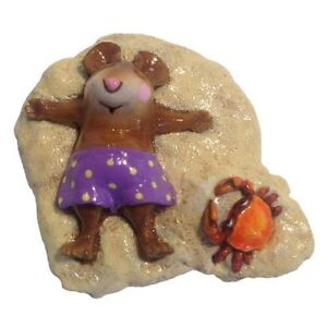 Wee Forest Folk M-236 Alone at Last - Purple - Retired