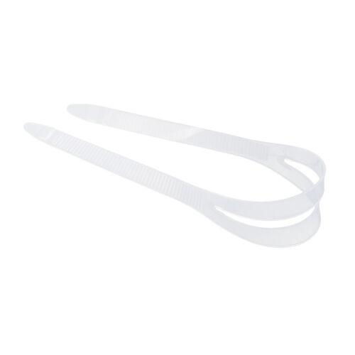 Weiss Maskenband Silikon Tauchmaskenband Schwarz