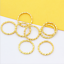 100p-Gold-Silver-Plated-Twisted-Open-Round-Ring-Jumprings-Connector-Craft-8-20mm thumbnail 8
