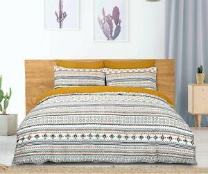 Azulejos-marroqui-funda-nordica-Juego-De-Cama-Individual-Doble-King-Superking