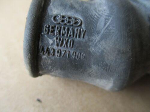 AUDI 100 c1 c2 tulles caoutchouc câble en œuvre de conduit Neuf Orig 443971908