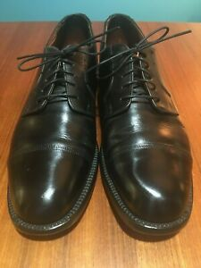 Shoes, Black Leather Oxford, Size