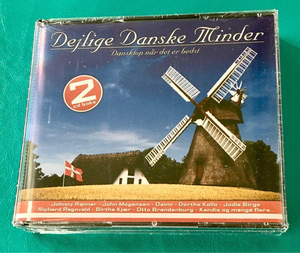 Dejlige Danske Minder (2CD): Dansktop når det er bedst, pop