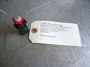Bremslichtschalter Opel Corsa D 55701395 1.2i Twinport 59kW Z12XEP 47404