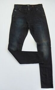 RIP-CURL-Mens-SLOUCH-FIT-Jeans-Size-W30-L32-Slim-Mid-Rise-Indigo-3D-Aged-Denim