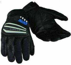 BMW Rallye 3 GS Pro style gloves, black/blue summer gloves, Size UK Large 9cm