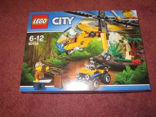 NEW//BOXED//SEALED LEGO City Jungle Cargo Helicopter 2017 60158