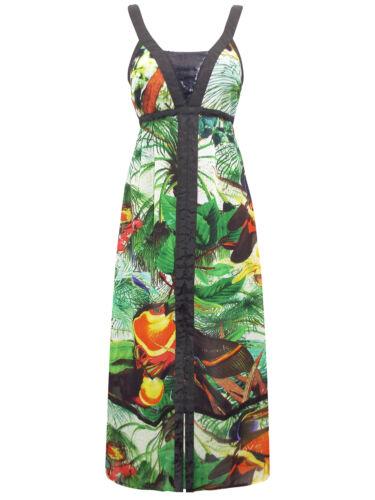 8 Dress Bulgaria Maxi Green P P Print gratuites Tailles de Desigual TBqwv