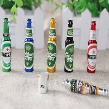 Mini Beer Smoke Metal Pipes Portable Creative Smoking 1pcs Herb Tobacco Weed
