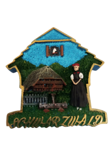 Magnet Schwarzwald Glitzer Geschenk Souvenir