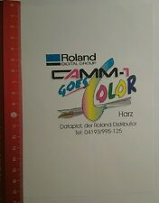 Aufkleber/Sticker: Roland Digital Group camm 1 goes Color Harz (200716148)