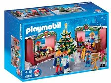 Playmobil #4891 Christmas Market NEW in Box Retired RARE Hard to Find