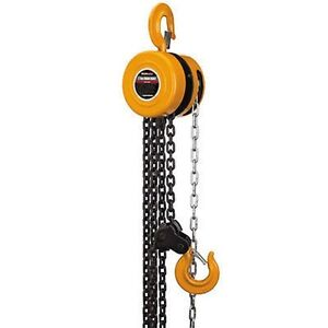 1 ton manual engine hoist block and tackle chain fall lift for 1 4 ton chain motor
