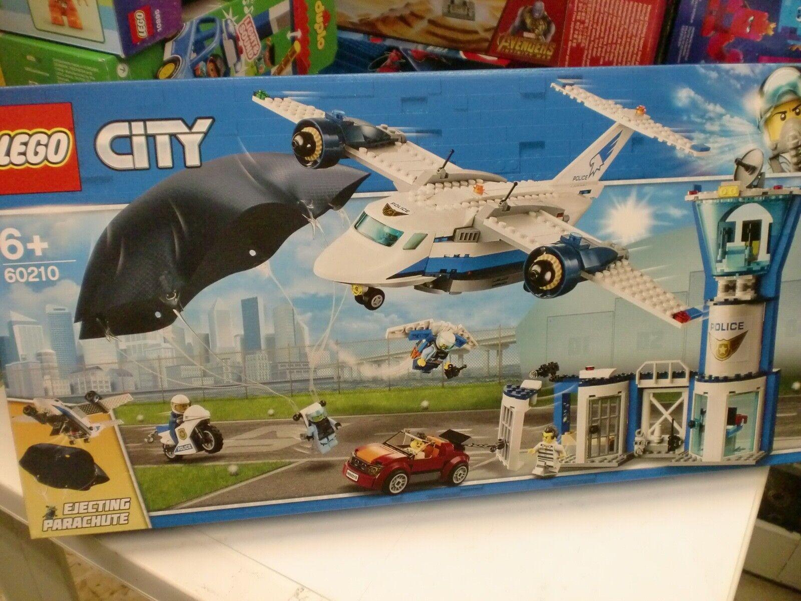 LEGO 60210 - BASE AEREA DELLA POLIZIA - SERIE CITY
