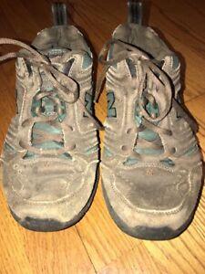 a668fce281881 NEW BALANCE 621 All Terrain Leather Walking Hike Men Shoes Sz 8 EEEE ...