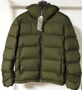 Details about NWT Uniqlo Men's Seamless Down Parka Water Repellent Puffer Coat Jacket Olive