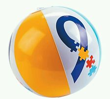 """11"""" AUTISM AWARENESS INFLATABLE BEACH BALL AUTISM BALL AUTISM TOY PARTY FAVOR"""
