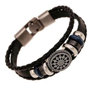 Armband Anker Bracelet Surfer Style Maritim Kunst Leder Unisex Herren Damen NEU