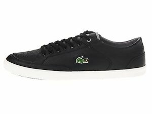 6f6855f2eef3 Lacoste Haneda CRE Men s Sport Casual Leather Sneakers SHOES US8 ...