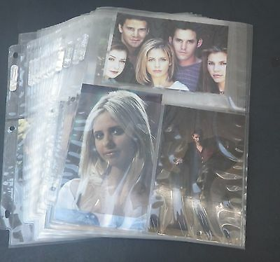 Rare Vintage set of 54 Buffy The Vampire Slayer 5x7 photos by Inkworks 1999