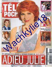 Télé Poche n°2501 du 18/01/2014 Julie Lescaut Véronique Genest