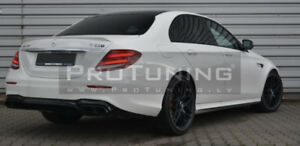 Pour-Mercedes-Classe-E-W213-Spoiler-Arriere-Coffre-Bague-Benz-MB-Aile-Hayon-Bord