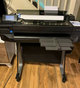 HP-DesignJet-T520-Plotter-24-inch-A1-Plotter-With-New-Printhead-Kit-Installed