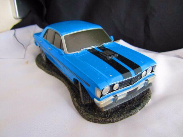 Ford Falcon GTHO Blue Blaze Scale Model NewinBox Fact 2nd Drag Rodz Family