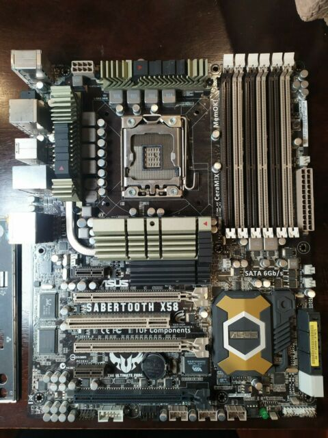 ASUS SABERTOOTH X58 Motherboard Socket LGA 1366 DDR3 Intel X58