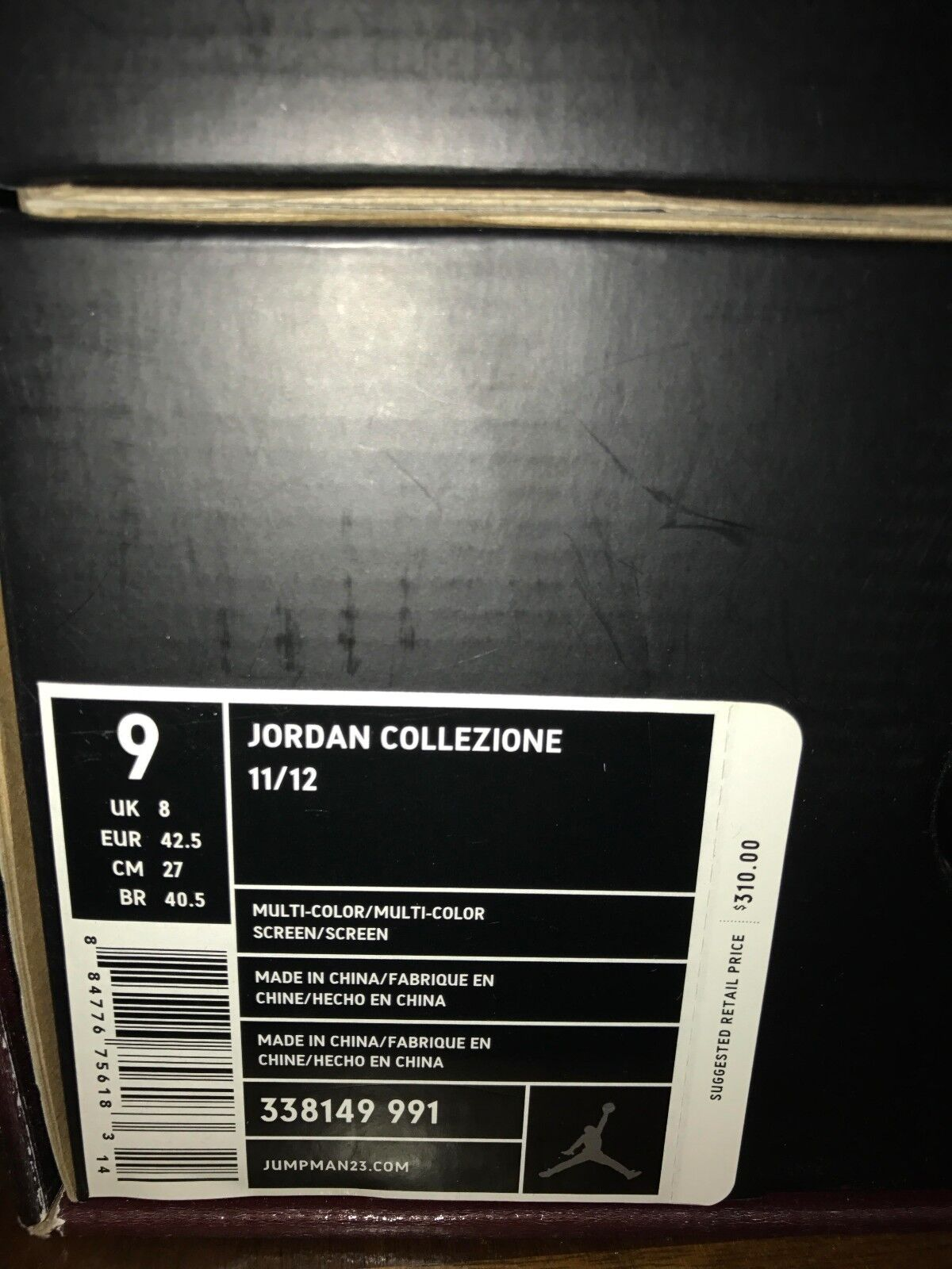 Air Jordan XI & XII (11 & 12) Countdown Pack sz 9 collezione DS 100% AUTHENTIC