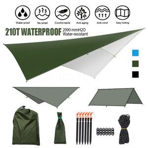 3M-Hammock-Rain-Fly-Cover-Waterproof-Tent-Tarp-Portable-Camping-Tarp-Shelter