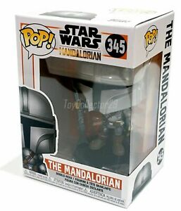 IN-STOCK-Funko-The-Mandalorian-345-Disney-Star-Wars-Bounty-Hunter-MINT-BOX