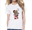 Wholesale-Fashion-Women-039-s-Casual-T-shirt-Short-Sleeve-Round-Neck-T-Shirts thumbnail 31