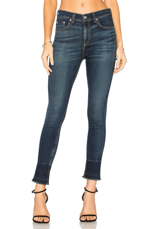 Rag & Bone 10in  skinny jeans in Stanwix Raw Edge Sz.24 NWT  250