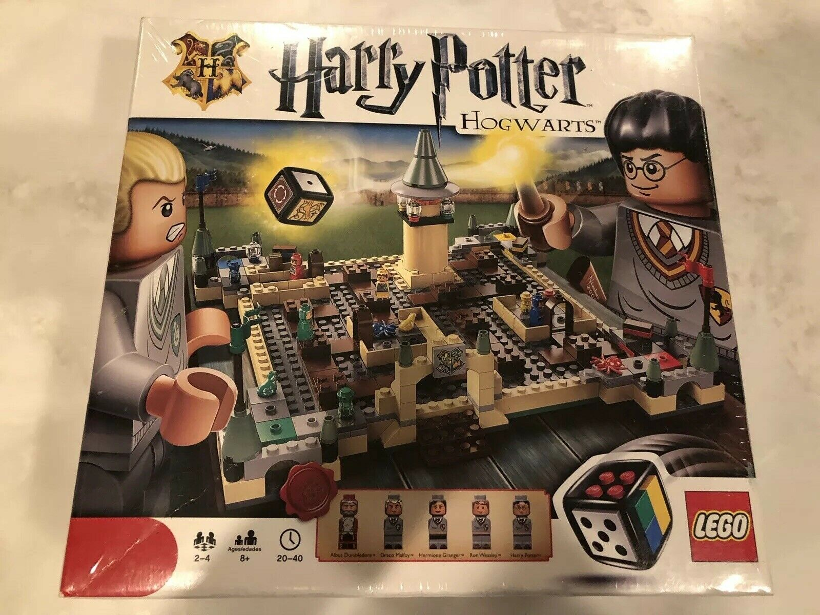 NEW & SEALED  Lego Game 3862 HARRY POTTER HOGWARTS Ages 8+ RARE & Retired
