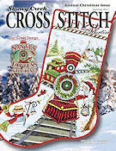 Stoney Creek Cross Stitch Summer 2021 Annual Christmas Issue New