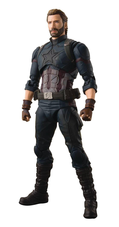 Avengers  infinity krieg s.h. figuarts captain america action - figur