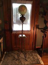 ANTIQUE VICTORIAN DUPLEX EXTENSION OIL PIANO LAMP ORIGINAL STUNNING