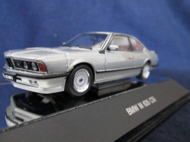 precios mas bajos Nuevo Autoart Autoart Autoart 1 43 BMW M635csi lachsPlata Metálico 50506  últimos estilos