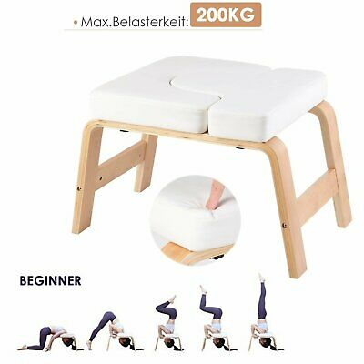wood headstand yoga inversion chair bodylift bench gym
